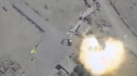 Dans la vallée de l'Euphrate, l'aviation russe a éliminé 304 terroristes de Daesh en deux jours