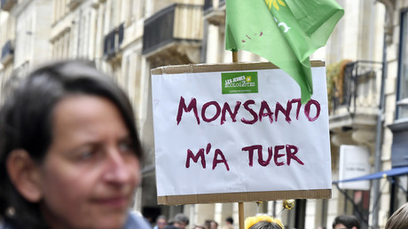 Manifestation contre Monsanto en mai 2017.