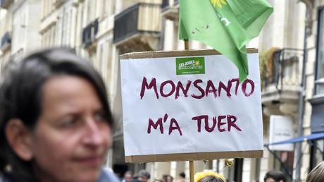 Manifestation contre Monsanto en mai 2017.
