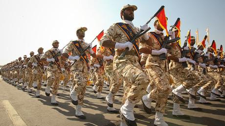 Défilé du corps des Gardiens de la révolution islamique