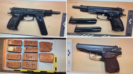 A Calais, la police française arrête un douanier anglais en possession d'armes et de drogues