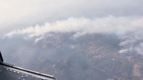 Californie : images aériennes de Santa-Rosa, ravagée par des feux de forêt