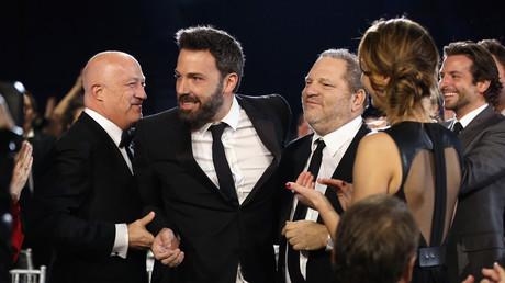 Harvey Weinstein et Ben Affleck à une cérémonie en janvier 2013.