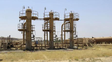 Le champ pétrolier de Bai Hassan