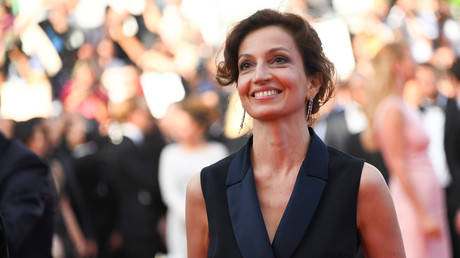 Audrey Azoulay à Cannes en mai 2017, photo ©Anne-Christine POUJOULAT / AFP