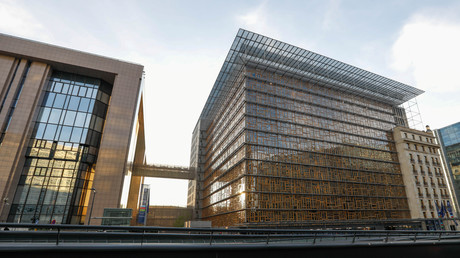 Le bâtiment Europa à Bruxelles