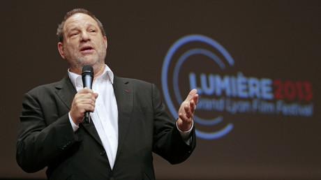 Harvey Weinstein à la cinquième édition du Festival Lumière à Lyon, en octobre 2013.