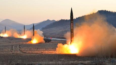 Test de missiles nord-coréens (illustration).