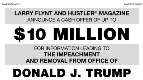 Un magnat du porno offre 10 millions de dollars à qui permettra la destitution de Trump