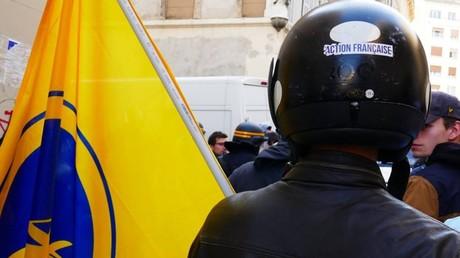 Echauffourées entre antifas et membres de l'Action française à Marseille (IMAGES)
