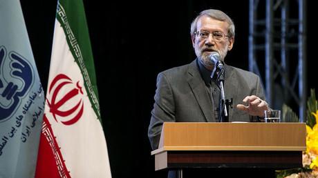 Ali Larijani, haut responsable parlementaire iranien