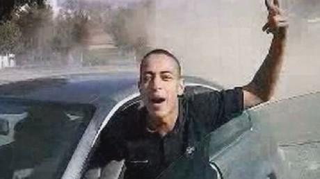 Mohamed Merah lors d'un rodéo automobile