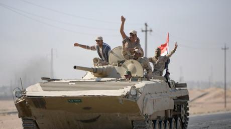 Les chars irakiens n'ont pas rencontré de véritable résistance lors de la reprise de Kirkouk