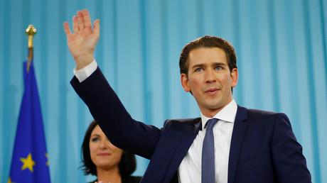 Sebastian Kurz, chef du Parti Populaire autrichien (OVP) et gagnant des législatives du 15 octobre.
