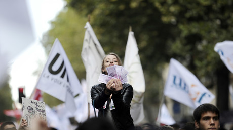 Des manifestants de l'Unef en 2010 à Paris (image d'illustration).