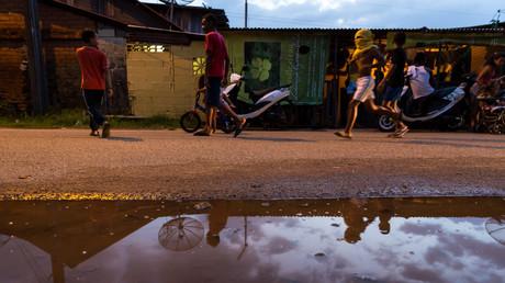 Guyanais dans la rue