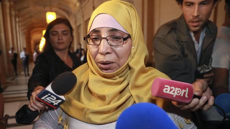 Zoulikha Aziri le 18 octobre aux assises de Paris.