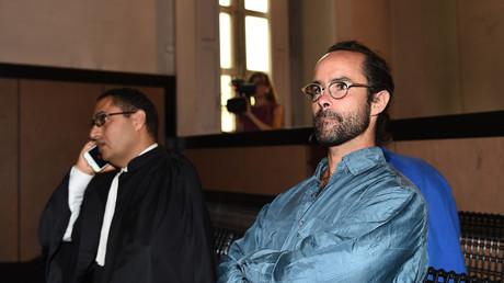 Cédric Herrou au tribunal d'Aix en Provence