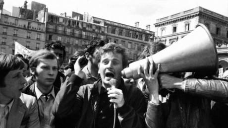 Daniel Cohn-Bendit en mai 1968
