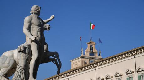 Palais du Quirinal à Rome, résidence officielle du président de la République italienne (image d'illustration).