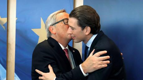 Pas d'amour dans l'air : quand Sebastian Kurtz se refuse à Jean-Claude Junker
