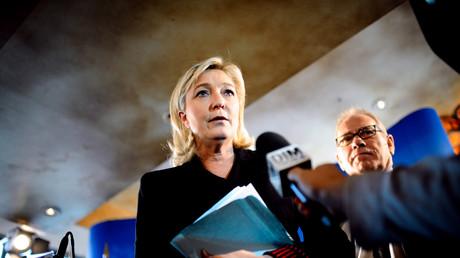 Marine le Pen en 2012.
