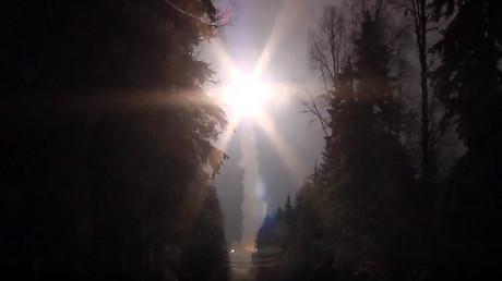 La lancement d'un missile balistique le 26 octobre.