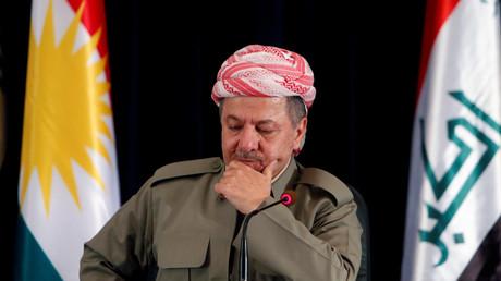 Massoud Barzani regrette le peu de soutien international qu'ont reçu les Kurdes après leur référendum d'indépendance