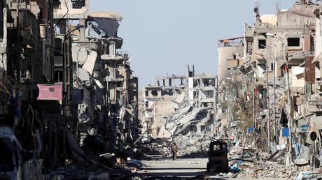Ruines de Raqqa après le départ de Daesh