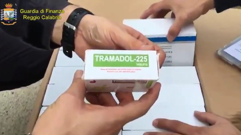24 millions de pilules de Tramadol qui seraient destinées à Daesh saisies en Italie