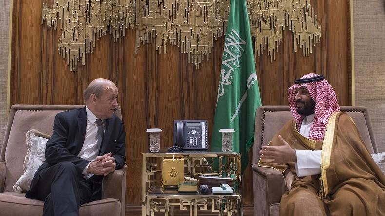 Le drian invite le prince h ritier saoudien faire ses emplettes en france d but 2018 rt en - Declaration porte fort heritier ...