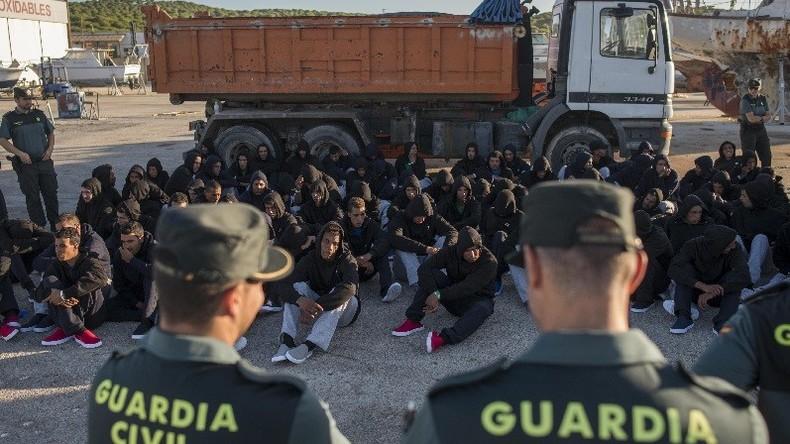 Madrid sous le feu des critiques après avoir décidé d'héberger des migrants dans une prison