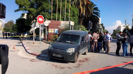 L'attaque s'est déroulée devant le Parlement tunisien