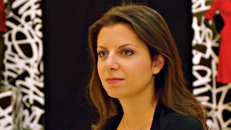 Margarita Simonian, rédactrice en chef monde de RT, plus puissante qu'Hillary Clinton selon Forbes
