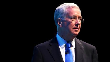Le secrétaire britannique à la Défense Michael Fallon