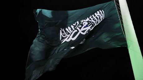Un drapeau saoudien (image d'illustration)