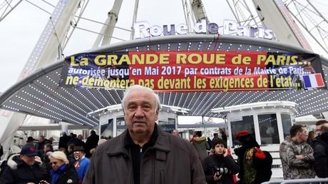 Marcel Campion tirait déjà le signal d'alarme en novembre 2016, ici devant la grande roue place de la Concorde à Paris.