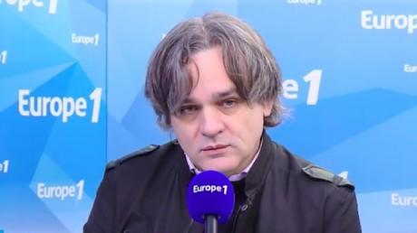 Riss, directeur de la publication de Charlie Hebdo, interviewé sur Europe 1 le 6 novembre.