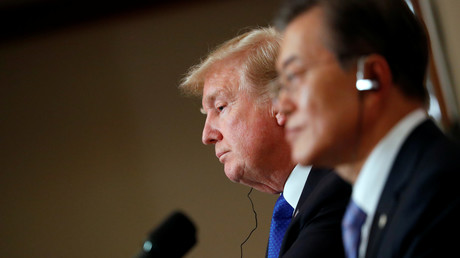 Donald Trump et son homologue sud-coréen Moon Jae-in
