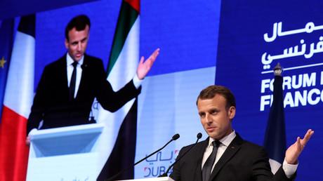 Emmanuel Macron à Dubaï