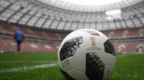 Zidane, Messi, Del Piero et Kaká à Moscou pour présenter le ballon de la Coupe du monde 2018