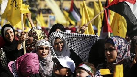 Près de 100 000 personnes ont participé à la manifestation à Gaza le 11 novembre, selon les organisateurs.