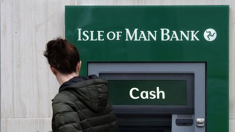 Banque sur l'île de Man, considérée comme un paradis fiscal
