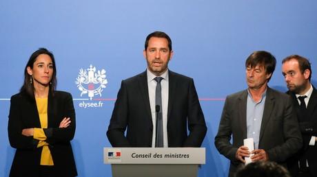 Christophe Castaner est actuellement le porte-parole du gouvernement et seul candidat pour diriger La République en marche