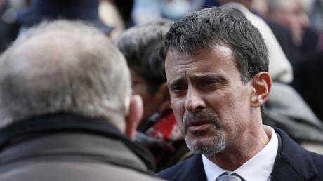 Manuel Valls a été véhément contre les propos d'Edwy Plenel (Mediapart)