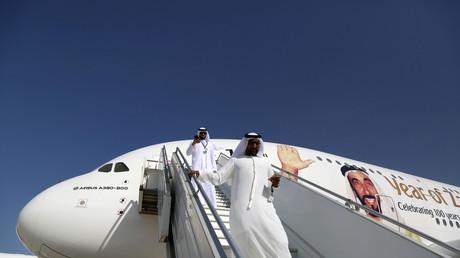 Visiteurs du Dubai Airshow