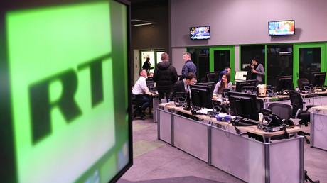 Les bureaux de RT à Moscou