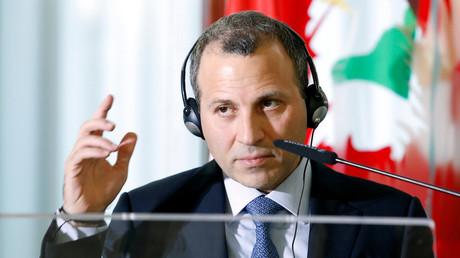 Gebran Bassil, ministre libanais des Affaires étrangères, photo ©Remo Casilli/Reuters