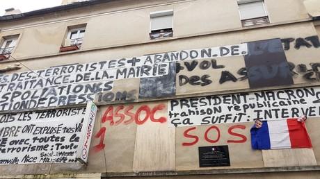 L'immeuble du 48 Saint-Denis, insalubre depuis l'assaut des forces de l'ordre le 18 novembre 2015