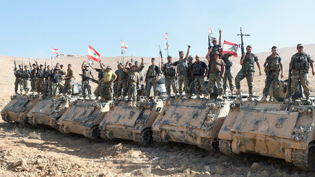 Soldats de l'armée libanaise, illustration ©Hassan Abdallah / Reuters